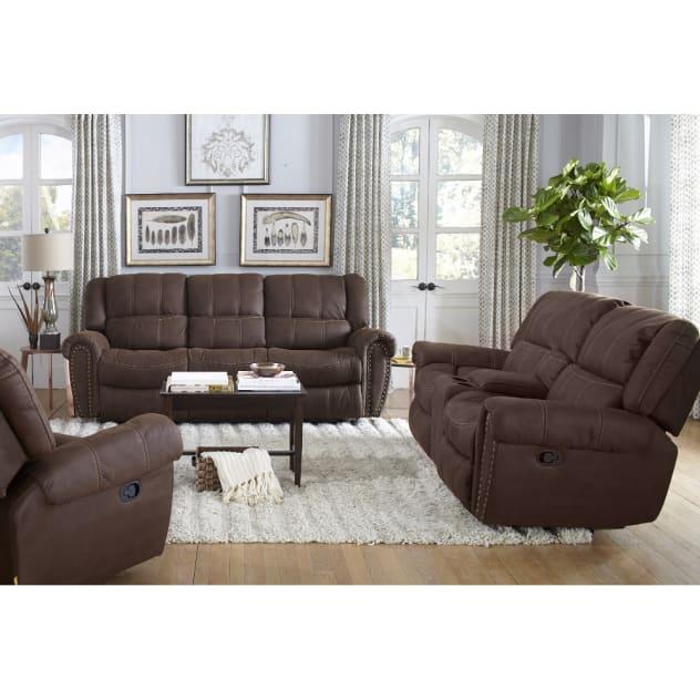 Carrera Living Room - Reclining Sofa & Loveseat - XW950
