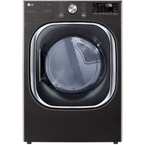 LG 7.4 cu. ft. Ultra Large Capacity Smart wi-fi Enabled Front Load Electric Dryer with TurboSteam™ - DLEX4500B