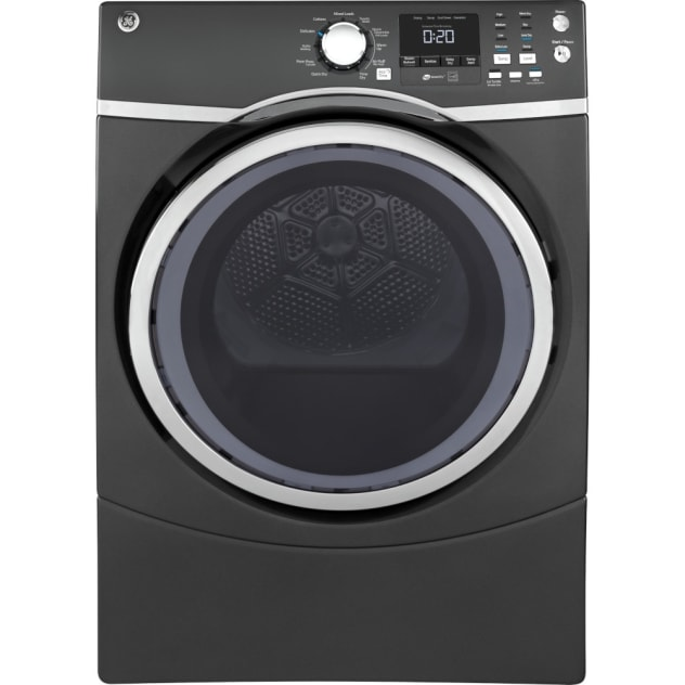 GE® 7.5 Cu. Ft. Capacity Front Load Gas Dryer with Steam - GFD45GSPMDG