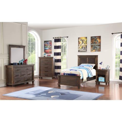 Vanguard Bedroom - Twin 3PC Set