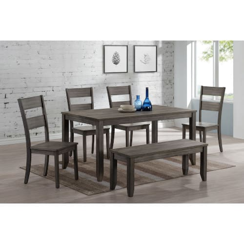 Phoenix Dining Collection - Dining Table & 4 Dining Chairs - PHOENIXDINING