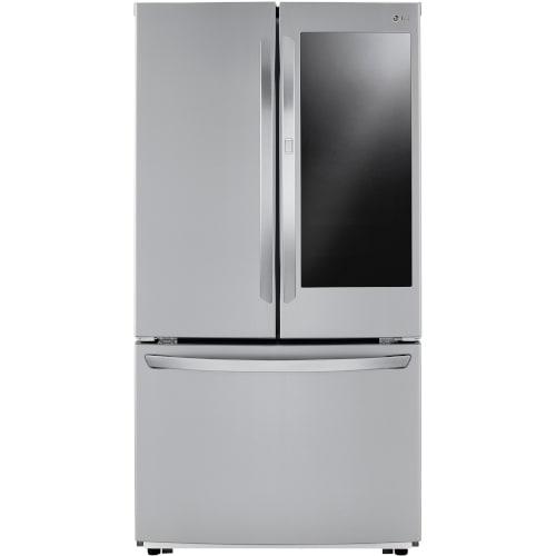 LG 23 cu. ft. InstaView™ Door-in-Door® Counter-Depth Refrigerator - LFCC23596S