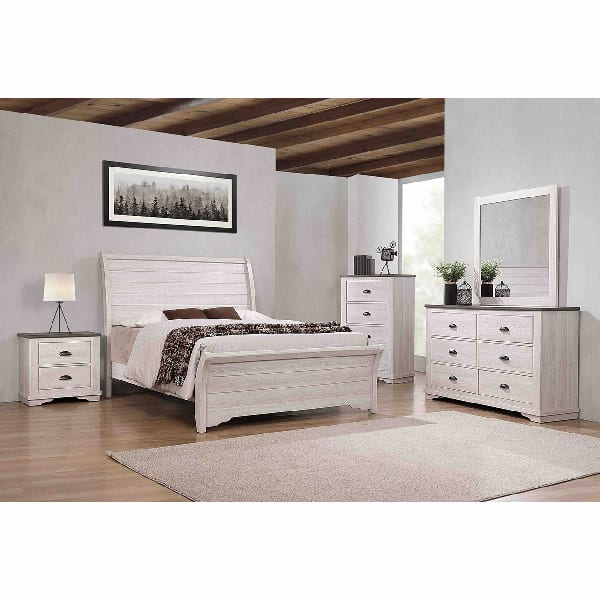 Marie King 3PC Bedroom Set - MARIEKG3PC