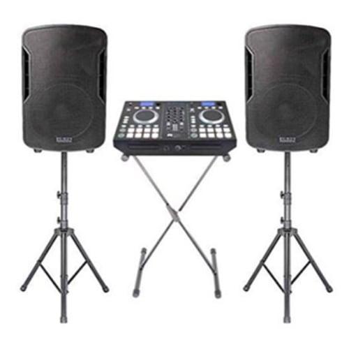 Edison 2400W DJ PRO 8000+ Professional Mobile DJ System