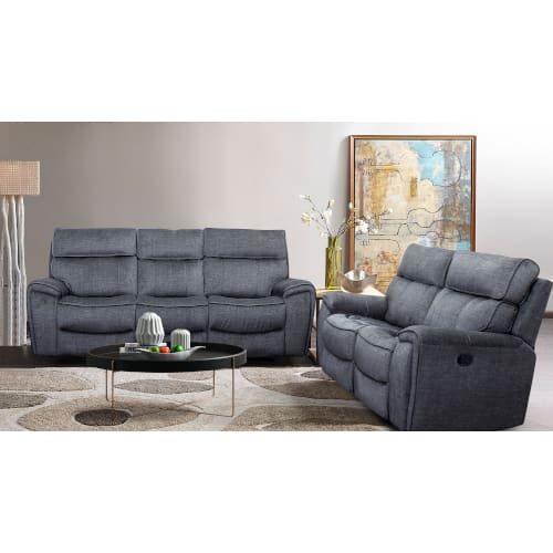 Riverdale Collection 2PC Sofa & Reclining Loveseat