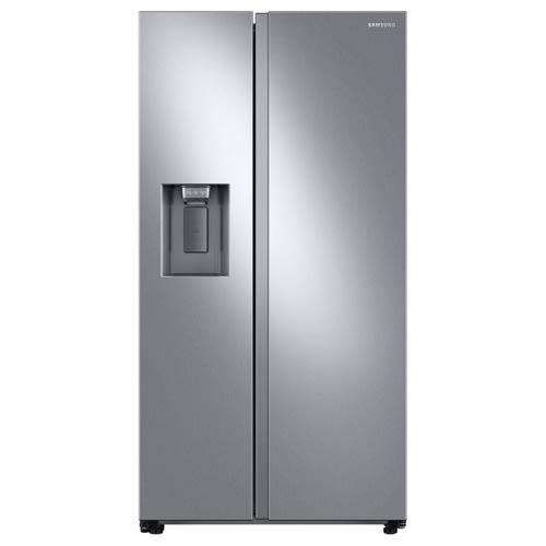 Samsung 27.4 cu. ft. Large Capacity Side-By-Side Refrigerator - RS27T5200SR