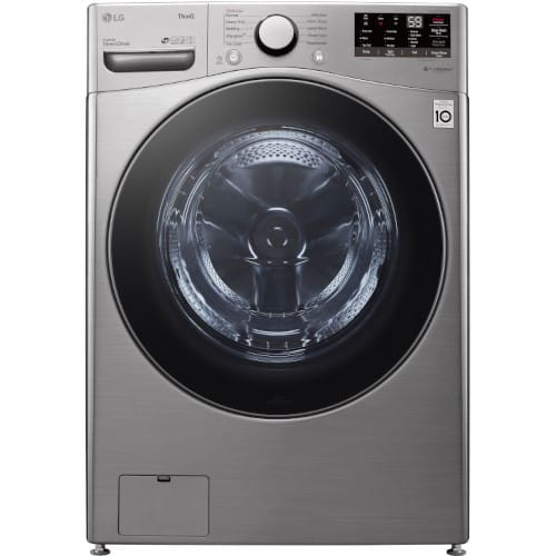 LG 4.5 cu. ft. Wi-Fi Enabled Front Load Washer with Built-In Intelligence & Steam Technology