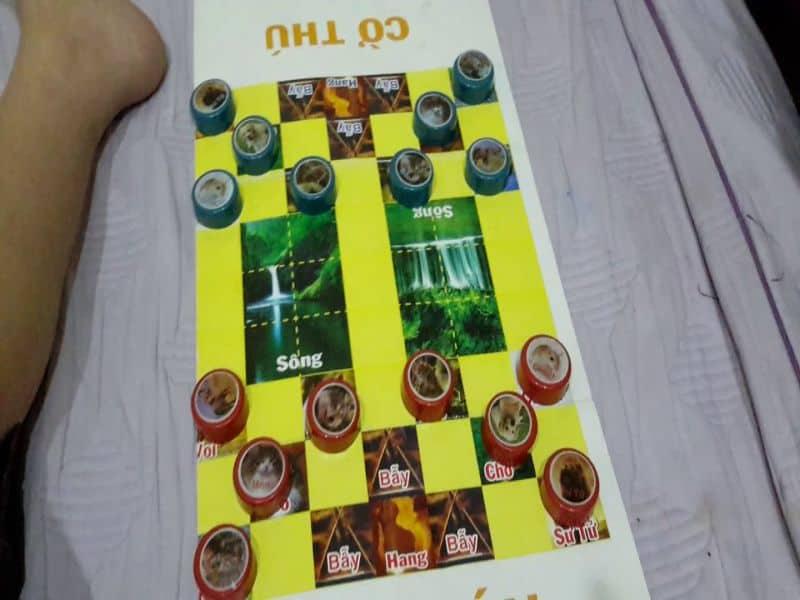 Chơi game cờ thú cần có chiến thuật