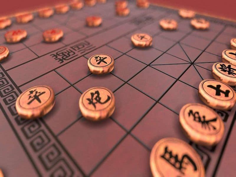 Người chơi tiến hành sắp xếp các quân cờ theo đúng quy định