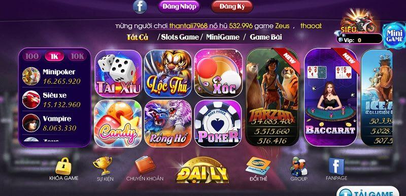 game sieu hu - Siêu Hũ – cổng game bài lớn nhất Việt Nam, chơi là thắng