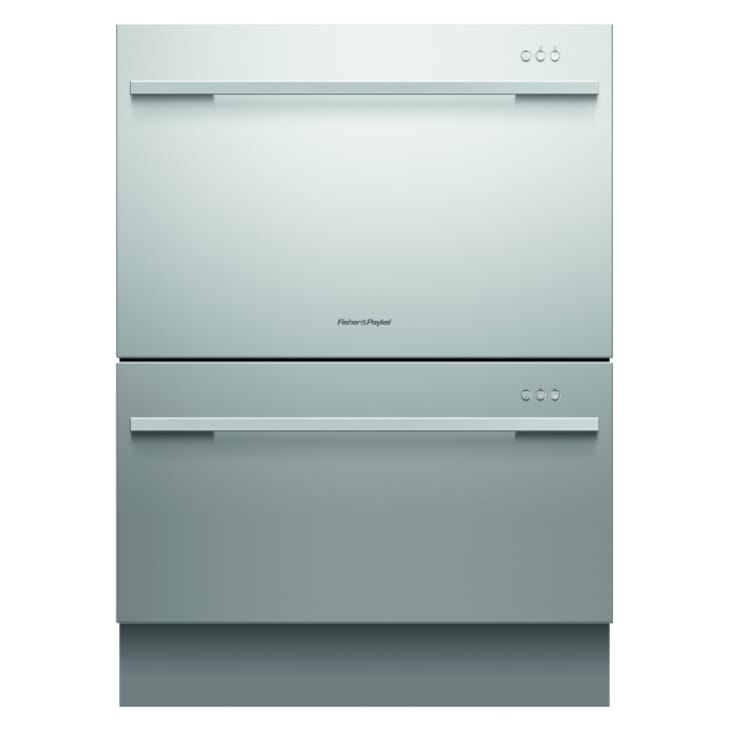 Fisher & Paykel  Double Designer Stainless Steel DishDrawer™