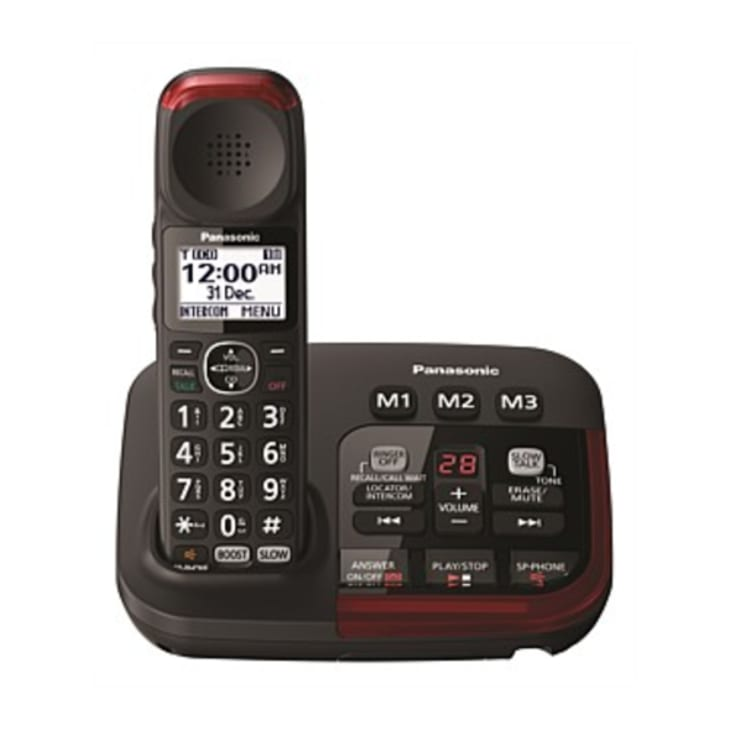 Panasonic Amplified Hearing and Vision Cordless Phone