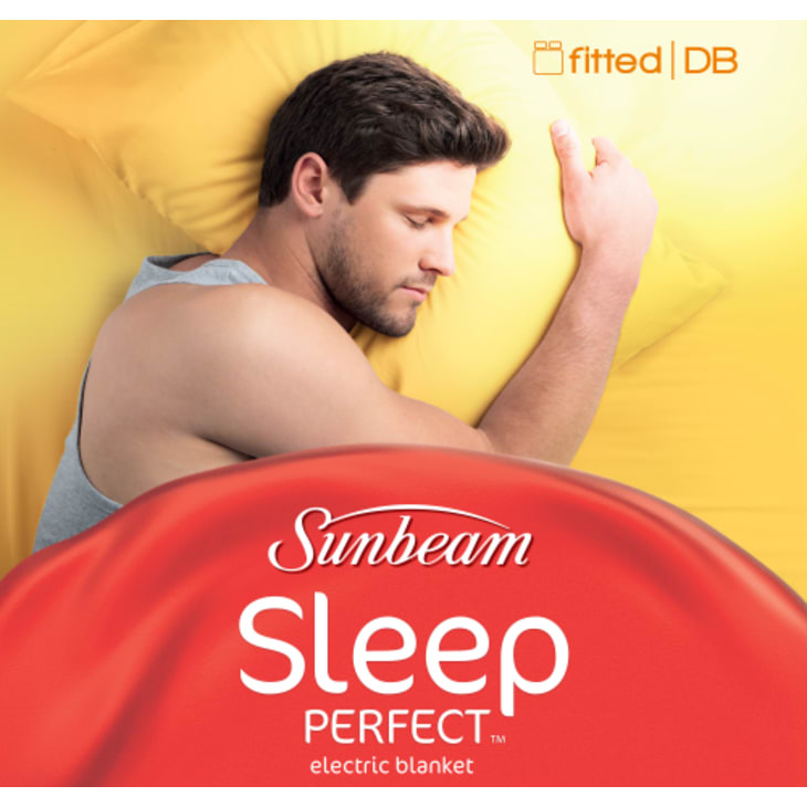 Sunbeam Sleep Perfect™ Double Bed Fitted Heated Blanket