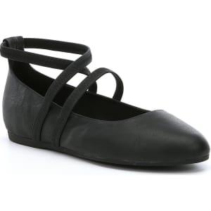 Eileen Fisher Joe Elastic Strap Ballet Flats 8loEF