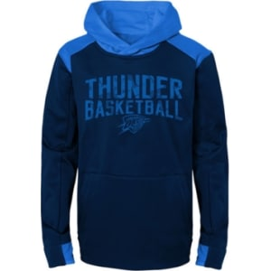 ceb0b6e9 Outerstuff Oklahoma City Thunder Off The Court Hoodie, Big Boys (8-20)