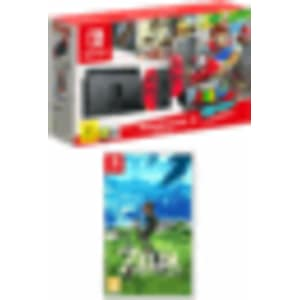 Nintendo Switch Mario Odyssey Limited Edition Console With The Legend Of Zelda Breath Of The Wild For Nintendo Switch