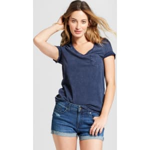e29481958df Women s Monterey Pocket V-Neck Short Sleeve T-Shirt - Universal ...
