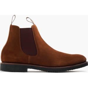 distinctive design highly praised 100% satisfaction guarantee Kenton Suede Chelsea Boots