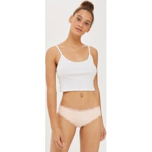 d989d6ad2089 Womens Microfibre French Knickers from Topshop.