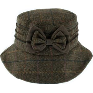 8925aa7f35410 Dents Dents Womens Moon Fabric & Wax Hat, Green from House of Fraser.