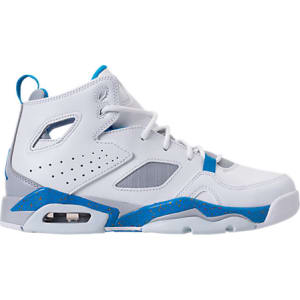 online store 2afee c7998 Nike Boys' Grade School Air Jordan Flight Club '91 Basketball Shoes, White