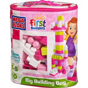 Mega Bloks Big Building Bag 80pc