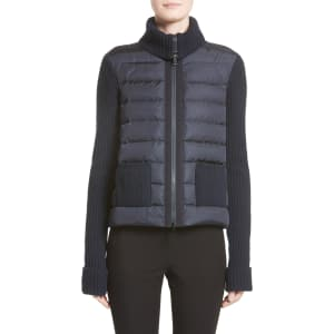 8ca652f63 Women s Moncler Ciclista Quilted Down Front Sweater Jacket