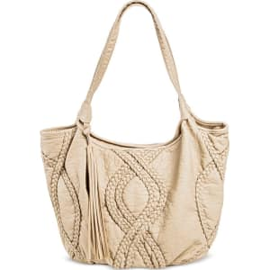 0f905c94f82a Under One Sky Women s Tote Handbag - Bone (Ivory) from Target.