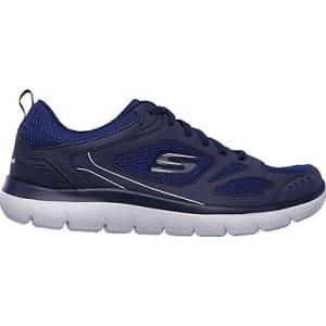 22878c59589a Skechers Men s Summits South Rim Memory Foam Sneakers (Navy Navy) from  Famous Footwear.