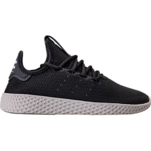 online retailer 0a014 74725 Adidas Boys Grade School Originals Pharrell Williams Tennis Hu Casual  Shoes, Black from Finish Line.