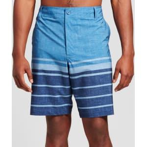 89fa1bbf2e Men's Big & Tall Hybrid Swim Shorts 11 - Mossimo Supply Co. Blue 60 ...