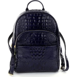 14d7600af57918 Brahmin Melbourne Collection Dartmouth Croco-Embossed Backpack from ...