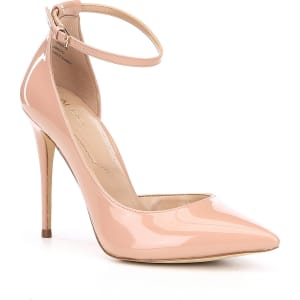 ALDO Stacey Patent Ankle Strap Pointed-Toe Pumps