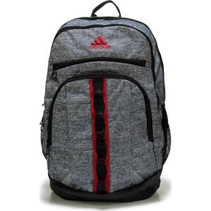 63ff25267c0 Adidas Prime III Backpack Accessories (Jersey Onix/Scarlet) from ...