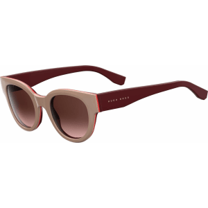 949f1121dfd2 Hugo Boss Gradient Lens Block Cat Eye Sunglasses Boss from BOSS.