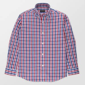 aa0c3d4b City of London Boys' Long Sleeve Button-Down Shirt - Blue M from Target.