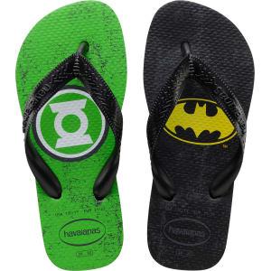 668567bf59ee28 Havaianas Kids Heroes Dc Comics Green Lantern   Batman Flip Flops - Kids  from Havaianas.