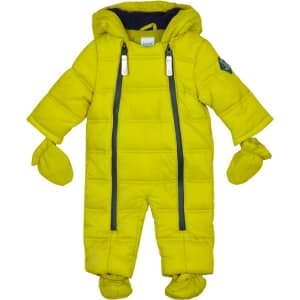 1212fa93694c6 Baker by Ted Baker Baby Boys  Lime Green Snowsuit from Debenhams.