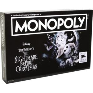 the nightmare before christmas collectors edition monopoly board game - Nightmare Before Christmas Board Game