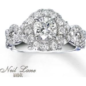 1017ea155 Neil Lane Bridal Ring 1-5/8 ct tw Diamonds 14K White Gold from Kay ...