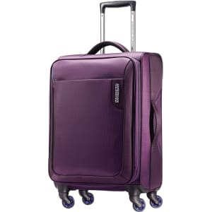 baa1810ad9 American Tourister Applite 20 Carry On Spinner Luggage - Purple from ...