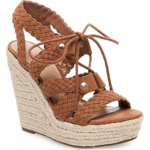 e934ca84f8a Women s Helia Platform Lace Up Espadrille Wedge Sandals - Mossimo ...