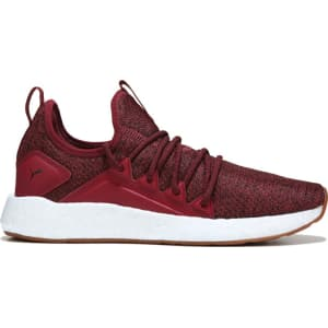 Puma Men s Nrgy Neko Knit Sneakers (Red White Gum) from Famous Footwear. 995cea15b
