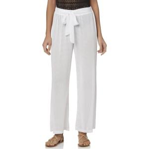 902c8feb Tropical Escape Women's Swim Cover-Up Pants, Size: Large, Black