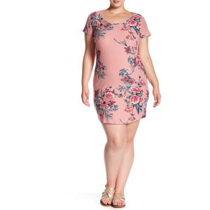 Print T-Shirt Dress (Plus Size) from Nordstrom Rack.