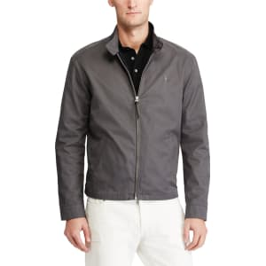 ce873c73976cac Polo Ralph Lauren Barracuda Cotton Twill Jacket, Charcoal Grey