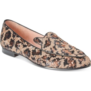 91d713a335ce Kate Spade New York Caty Sequined Leopard Flats Women s Shoes from ...