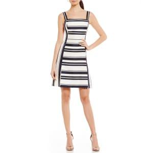 92e09328871 Eliza J Stripe A-Line Dress from Dillard s.