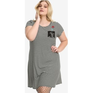 Disney Beauty And The Beast Pocket T-Shirt Dress Plus Size from Hot ...