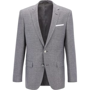 c6a921aff Hugo Boss Basketweave Cotton Linen Sport Coat, Slim Fit Hutsons from ...